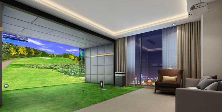 好奇号 simulation_模拟高尔夫案例-GOLFTIEME专业室内模拟高尔夫厂家
