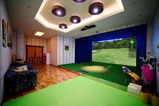 模拟高尔夫投影仪选择