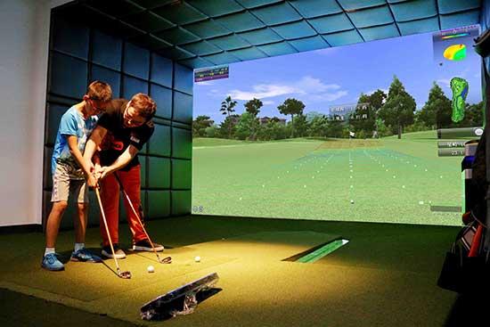 巴克创奇模拟高尔夫